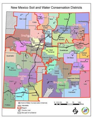 New Mexico SWCDs