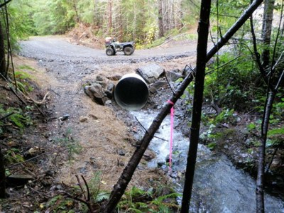 culvert modification after