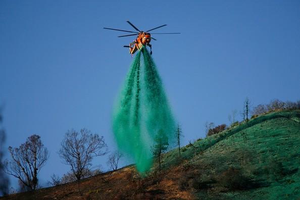 aerial application hydromulch