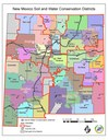NM SWCD Districts Map