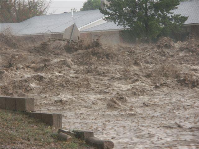 Flash Flooding in Alamogordo, June 2006